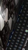 Dark High Tech Universe Star Keyboard Steel Theme Screen