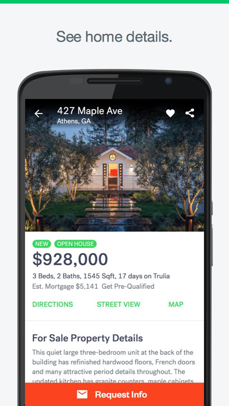 Trulia Real Estate: Search Homes For Sale & Rent screenshot 2