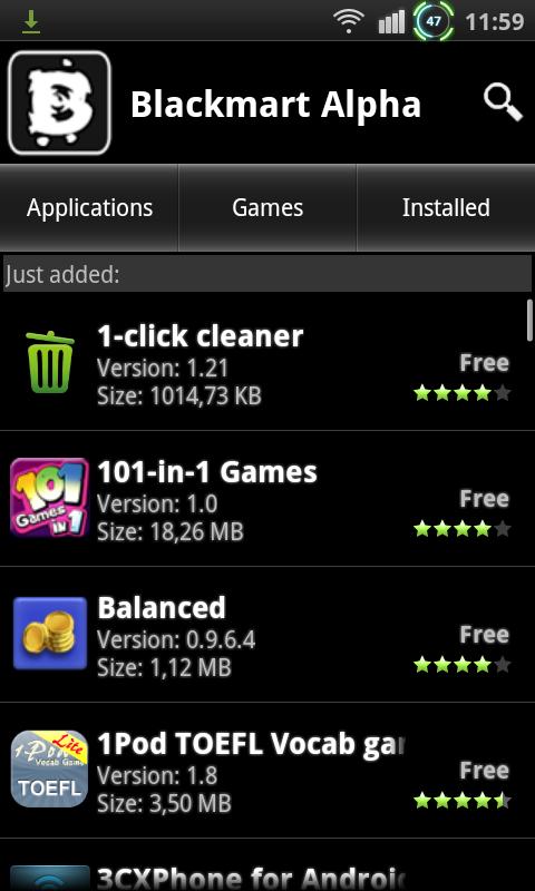 Blackmart 2014 screenshot 2