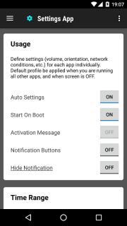 Settings App screenshot 1