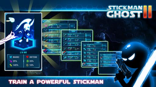 Stickman Ghost 2: Galaxy Wars screenshot 2