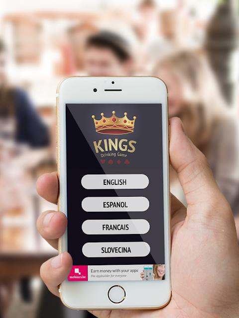 Kings Drinking Game screenshot 1