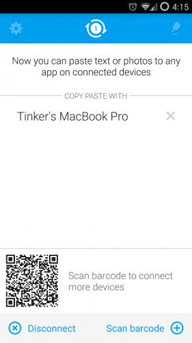 Pasteasy - Copy Paste Across! screenshot 2