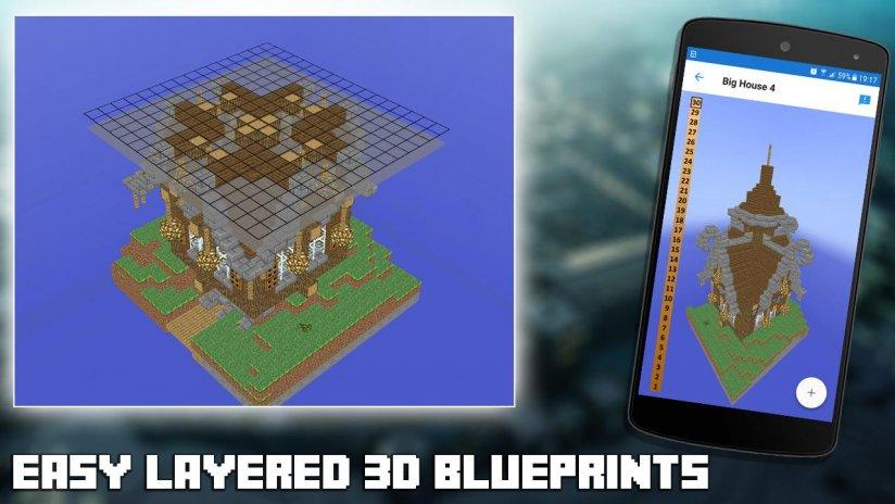 3d blueprints for minecraft 20 download apk for android aptoide 3d blueprints for minecraft screenshot 3 malvernweather Images