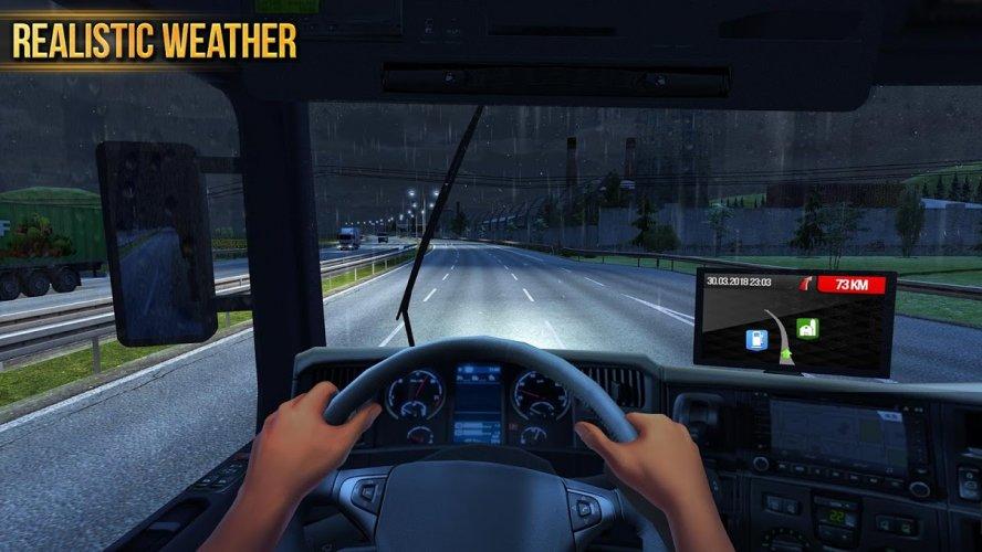 Camion Simulador 2018 : Europe screenshot 6
