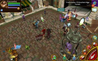 Arcane Legends MMO-Action RPG Screenshot