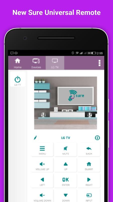 TV SURE Universal Remote Tips screenshot 1