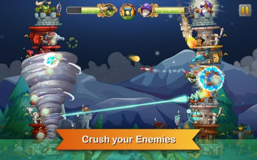 Tower Crush - Defense & Attack screenshot 4
