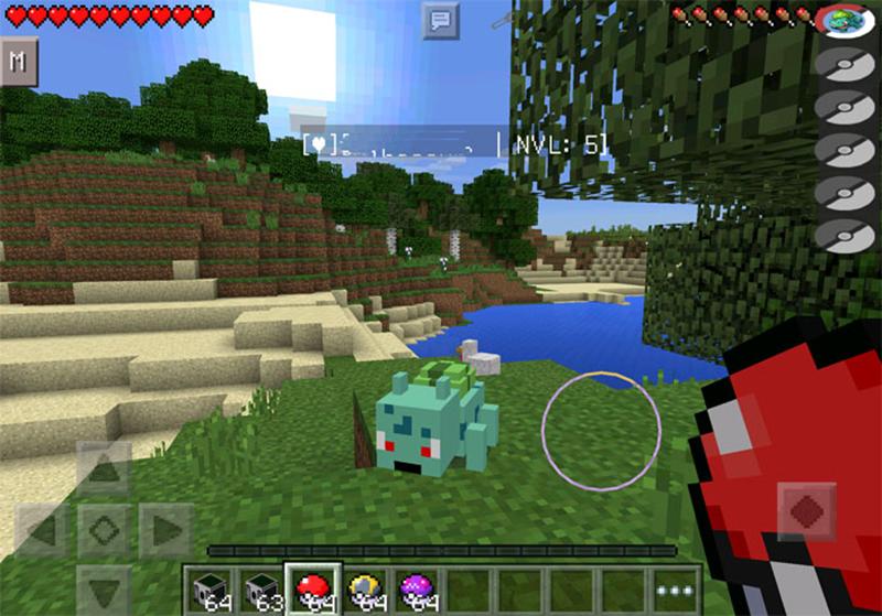 Mod Pixelmon MCPE screenshot 2
