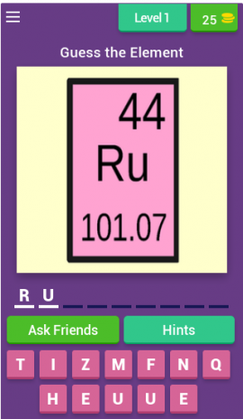 Guess the periodic table quiz 3137z download apk for android aptoide guess the periodic table quiz screenshot 7 urtaz Images