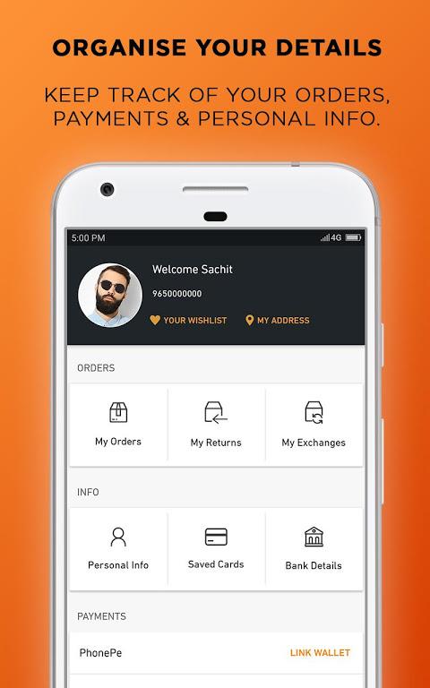 Jabong Online Shopping App screenshot 3