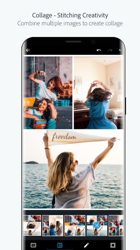 Adobe Photoshop Express:Photo Editor Collage Maker screenshot 6