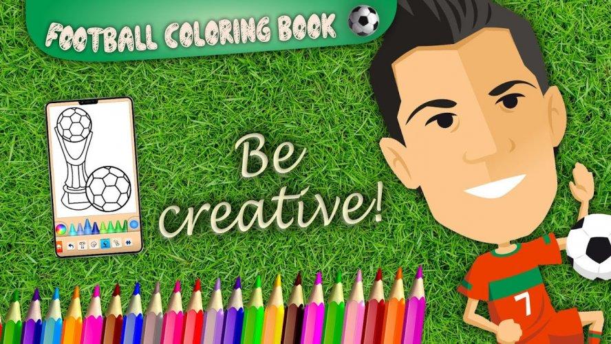 Futbol Boyama Kitabi Oyunu 13 4 4 Android Apk Sini Indir Aptoide