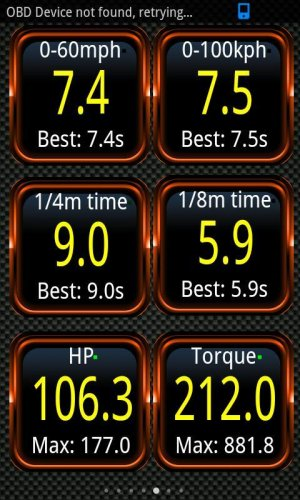 Torque Pro (OBD2 / Carro) screenshot 4