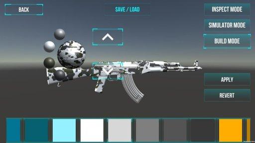 3D Ultimate Gun Simulator Builder screenshot 10