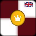 Internationales checkers Spiel