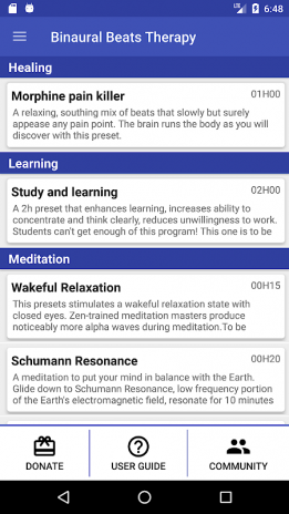 Binaural Beats Therapy 8 0 Download APK for Android - Aptoide
