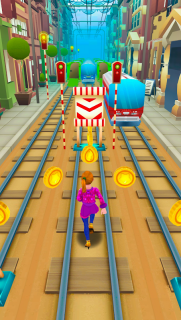 Subway Princess Surf - Endless Run screenshot 12