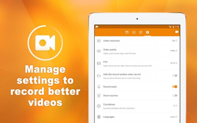 DU Recorder � Screen Recorder & Video Editor screenshot 5