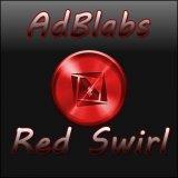 TSF Shell Theme Red Swirl HD