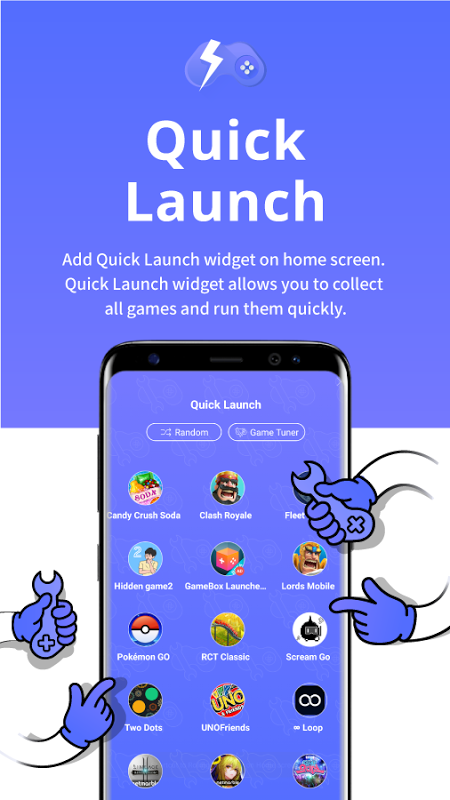 Game Tuner for Game Launcher screenshot 2