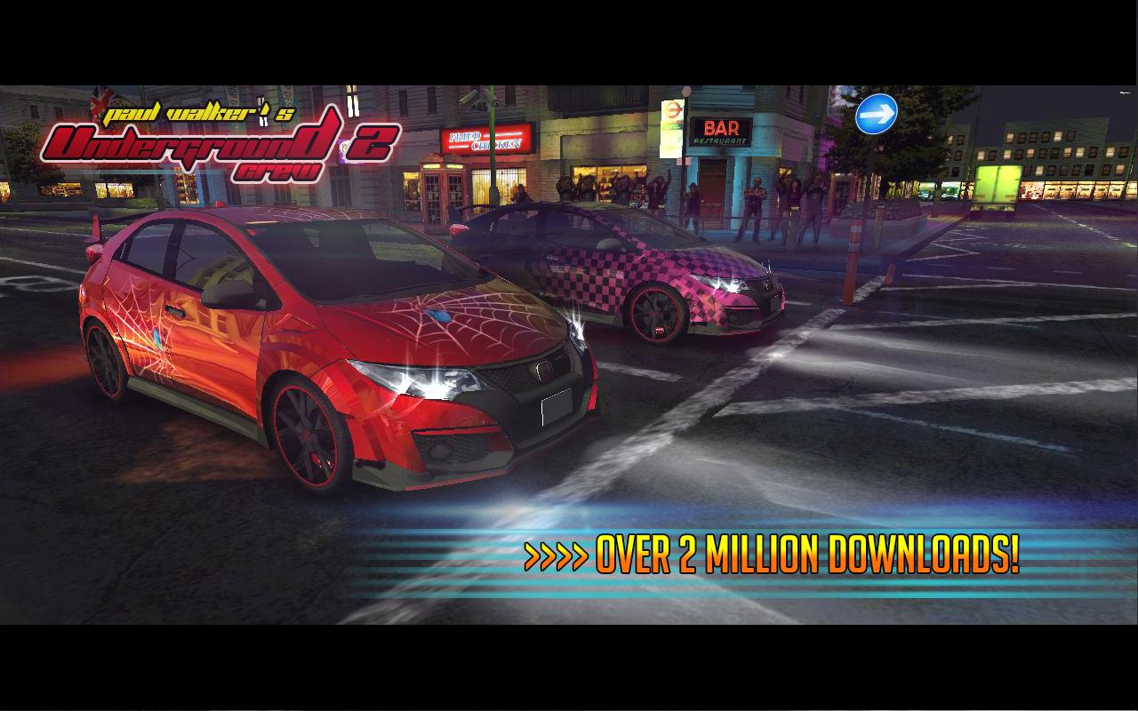Underground Crew 2 Drag Racing screenshot 2