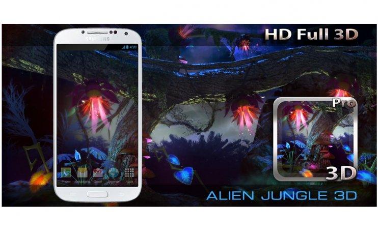 Alien Jungle 3d Live Wallpaper 1