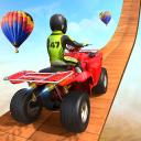 ATV Quad Bike Stunt Racing Game: Impossible Tracks