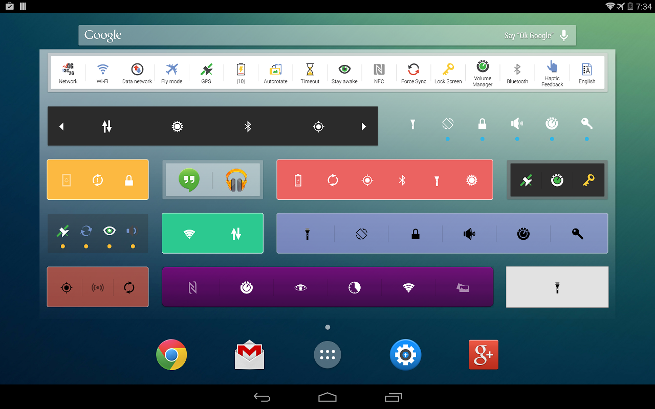Extended Controls screenshot 1