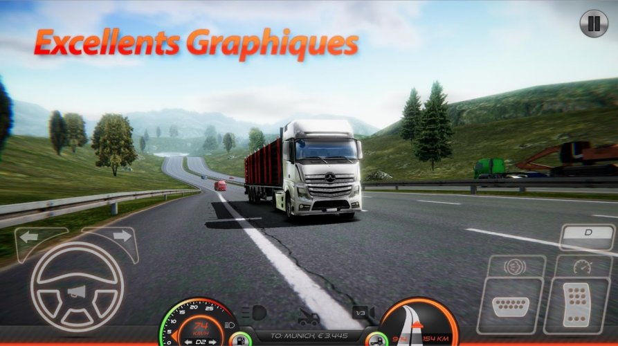Simulateur de Camion : Europe 2 screenshot 9