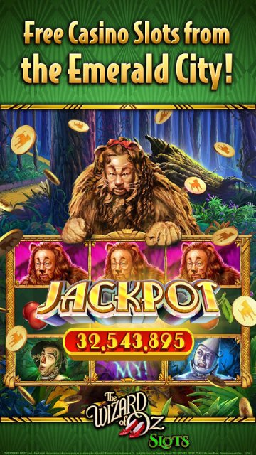 free wizard of oz slots for android