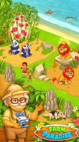 Farm Paradise: Hay Island Bay Screen