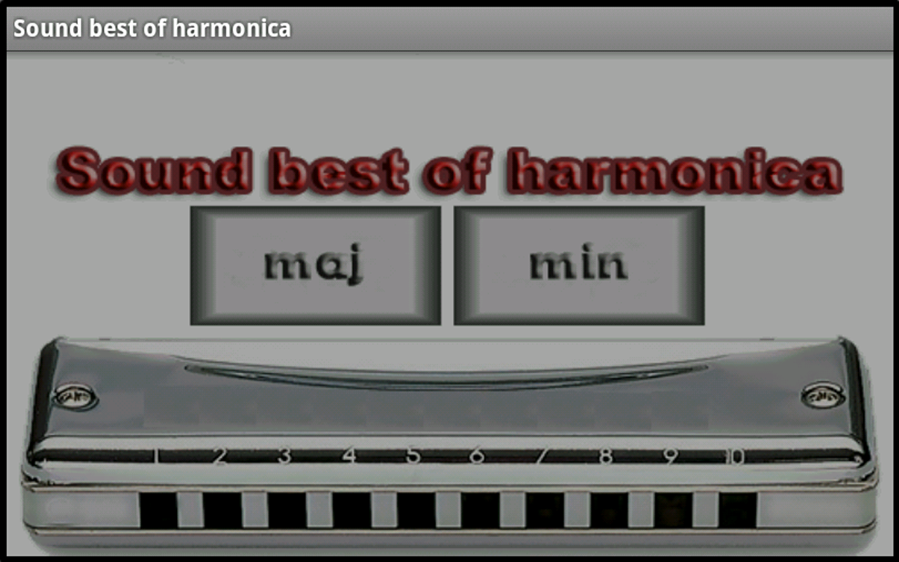 Harmonica screenshot 2