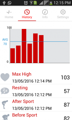Instant Heart Rate Monitor 1 1 Download APK for Android