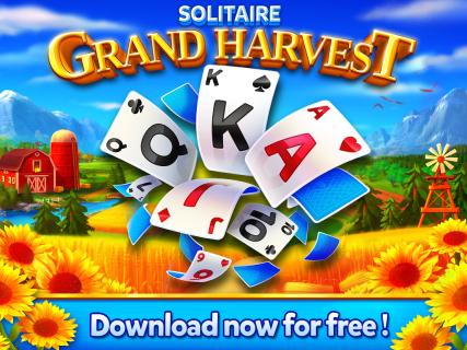 Solitaire - Grand Harvest - Tripeaks screenshot 4