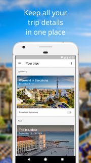 Google Trips - Travel Planner screenshot 1