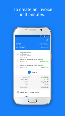 Invoice Maker Tiny Invoice Download APK For Android Aptoide - Tiny invoice