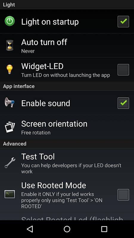 Torch Flashlight LED HD screenshot 6