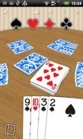 Crazy Eights Gold Screen