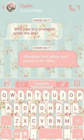 go keyboard font download