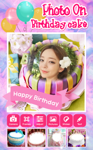Excellent Photo On Birthday Cake App 1 0 Download Android Apk Aptoide Personalised Birthday Cards Xaembasilily Jamesorg