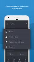 SanDisk Memory Zone Screen