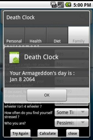Death Clock 1 35 Download APK for Android - Aptoide