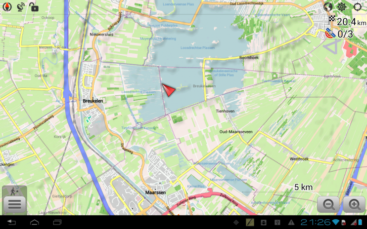 on download maps for android navigation
