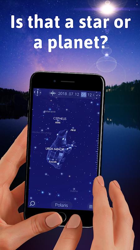 Star Walk 2 Free - Identify Stars in the Sky Map screenshot 1