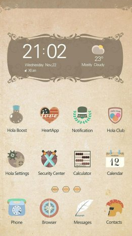 Papyrus Hola Launcher Theme 6 0 2 Download APK for Android