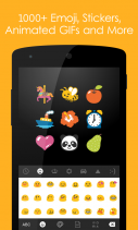 Ginger Keyboard - Emoji, GIFs Screenshot