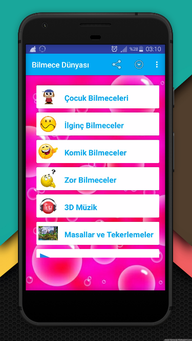 Komik Bilmeceler (internetsiz) screenshot 1