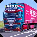 barro carga camión fuera del camino conductor