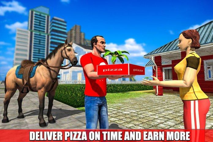 entrega de pizza de caballo montada 1.0 Descargar APK para Android ...
